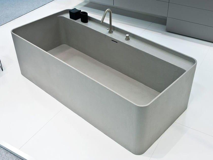 Freestanding rectangular bathtub SYN   Bathtub by LASA IDEA