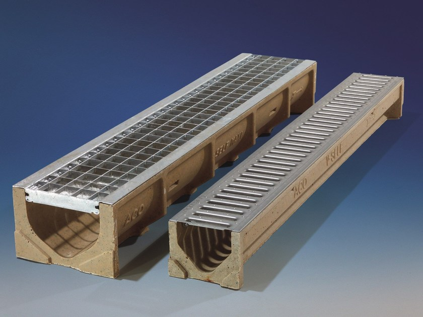 Drainage channel and part ACO SELF® by ACO PASSAVANT