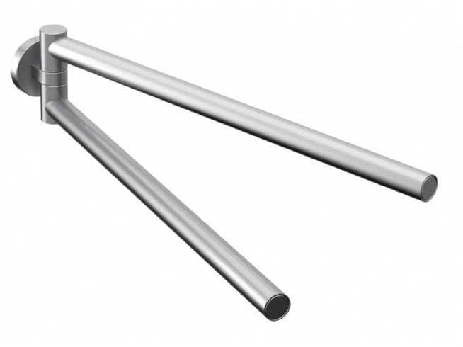 Stainless steel towel rail COCOON MONO 59 by COCOON