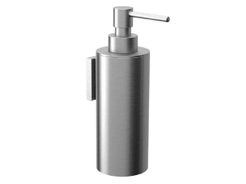 Wall Mounted Metal Liquid Soap Dispenser Cocoon Mono 57 By Cocoon