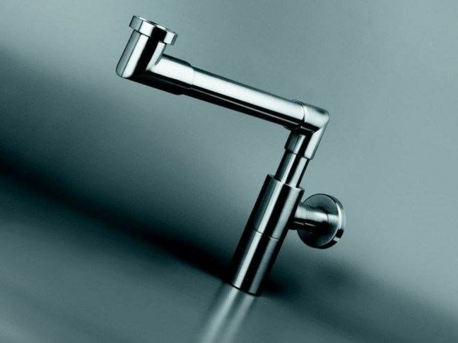 Washbasin stainless steel siphon COCOON FLO2 by COCOON