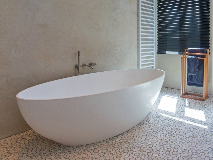 2 seater freestanding bathtub COCOON SALINAS by COCOON