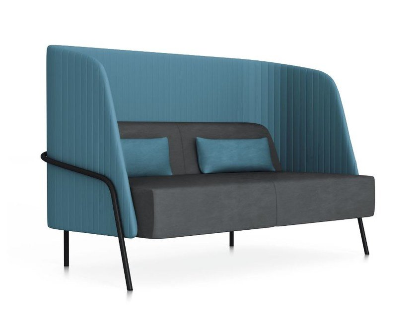 2 seater high-back sofa NOLDOR I831 by Segis