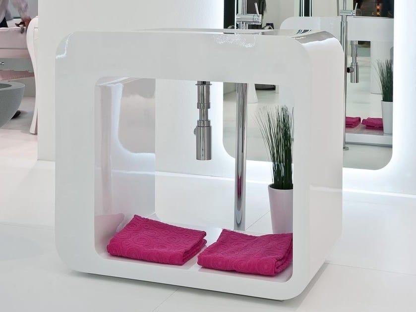 Freestanding washbasin UNOPUNTOZERO | Washbasin by LASA IDEA