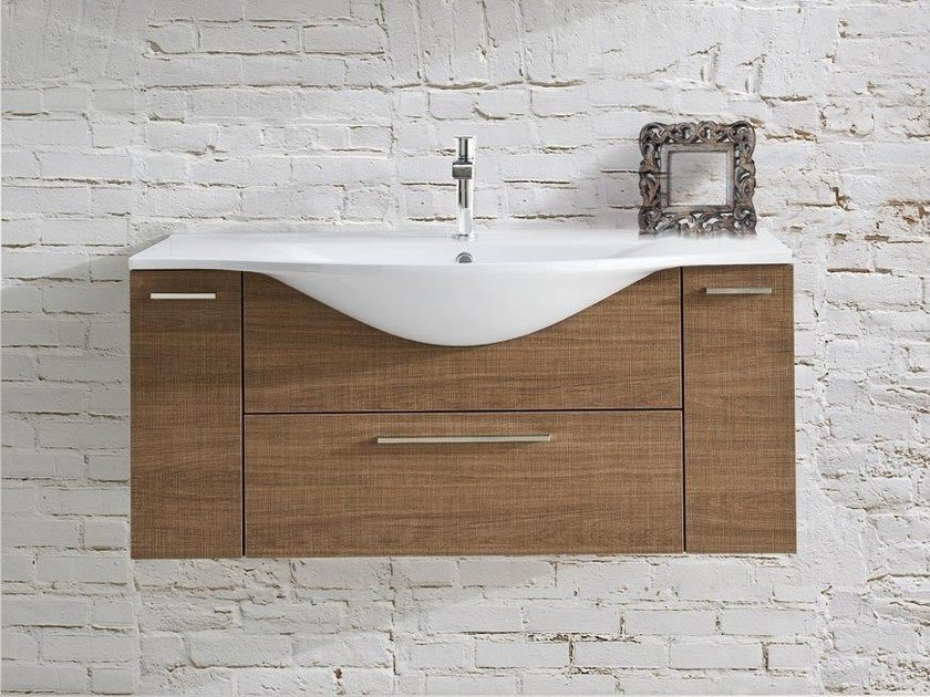 Single vanity unit with drawers VANITY 04 | Vanity unit by LASA IDEA