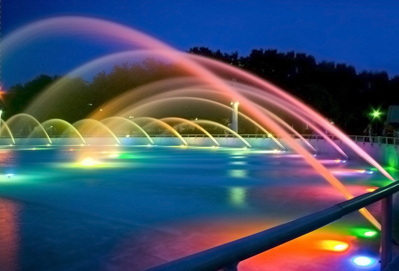 RGB underwater lamp for fountains WED LIGHT - LED by WED