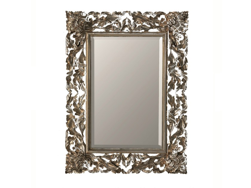 Rectangular framed mirror CALLA by BLEU PROVENCE
