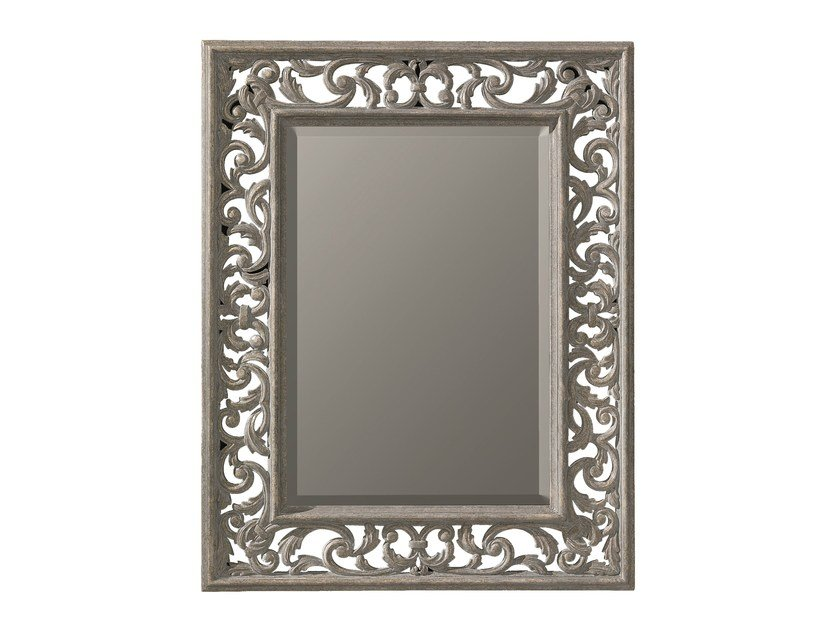 Rectangular framed mirror GLYCINE by BLEU PROVENCE