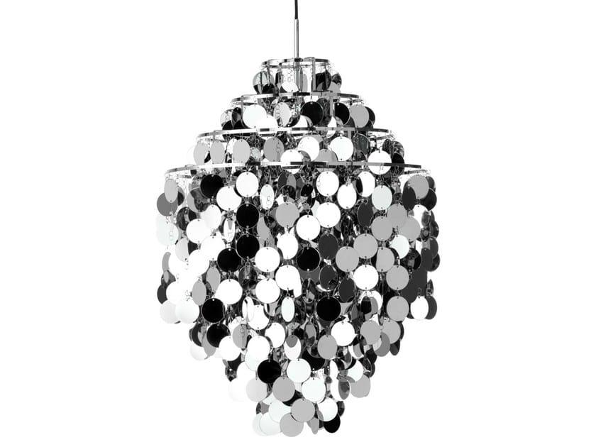 Metal pendant lamp FUN 0DA by Verpan
