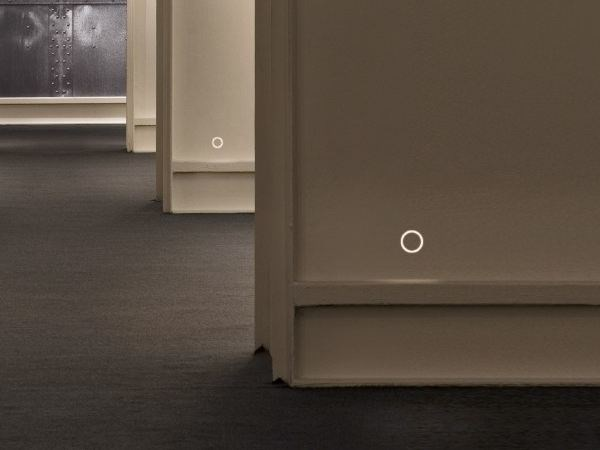 LED wall-mounted steplight G-O IN by FLOS