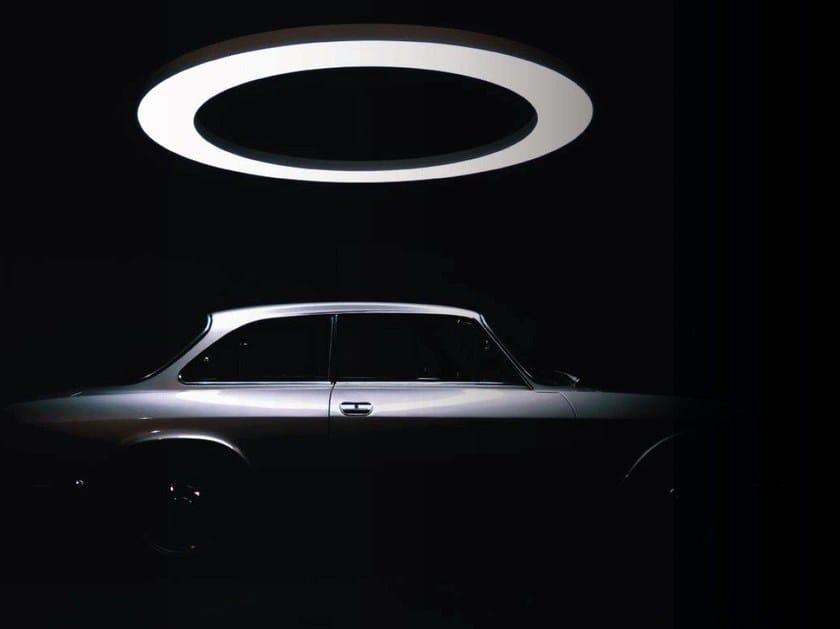 LED aluminium pendant lamp ANELLO by Sattler