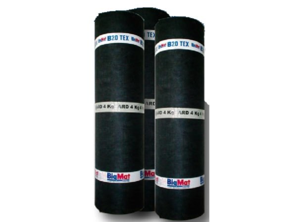 Prefabricated bituminous membrane B20 TEX ARD by BigMat