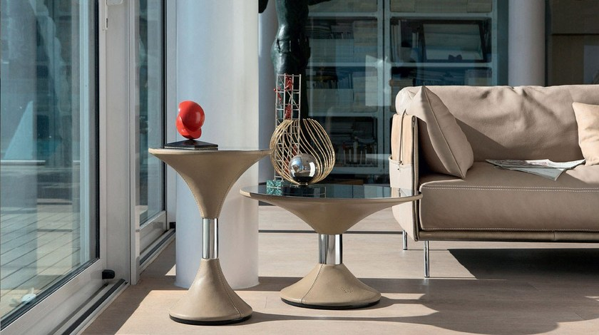 Round coffee table CLEPSYDRA by Italy Dream Design