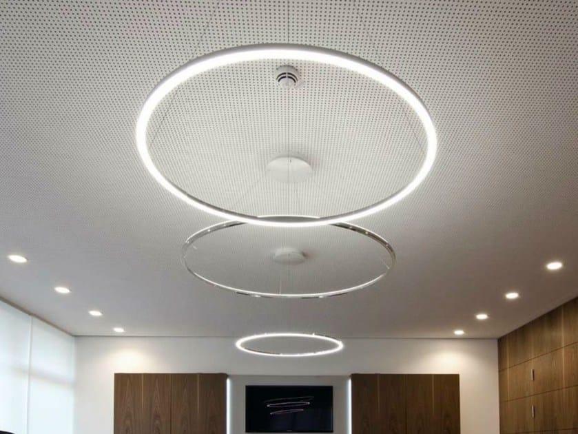 LED aluminium pendant lamp CIRCOLO SLIM | Pendant lamp by Sattler