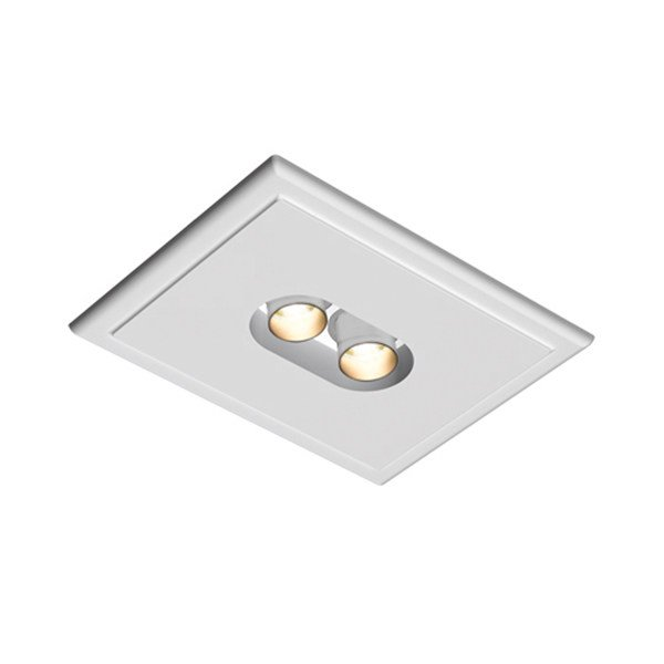 Multiple ceiling recessed spotlight USB ROUND 2L by FLOS