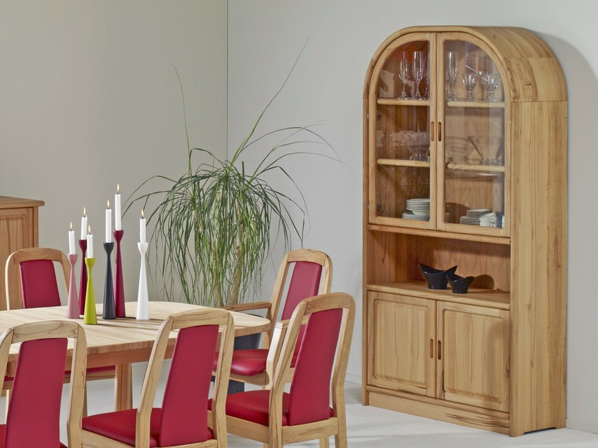 Wooden highboard with doors 1194M   Highboard by Dyrlund