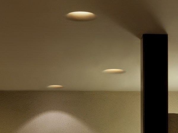 Recessed ceiling lamp uso 600 by flos aloadofball Image collections