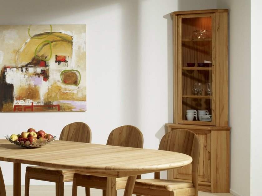 Wooden highboard with doors 1193M   Highboard by Dyrlund