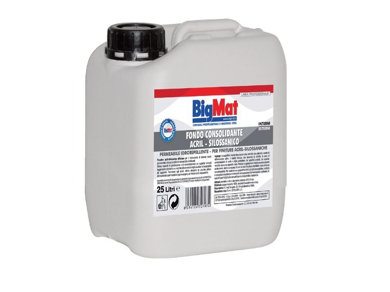 Base coat and impregnating compound for paint and varnish Consolidant fund by BigMat