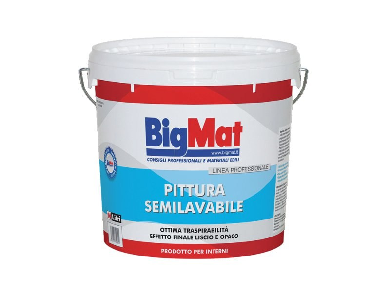 Washable water-based paint Half washable paint by BigMat