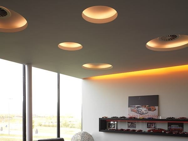 Indirect light recessed ceiling lamp uso 100 50 cove lighting by flos aloadofball Gallery