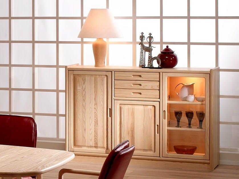 Wooden sideboard 2121M | Sideboard by Dyrlund