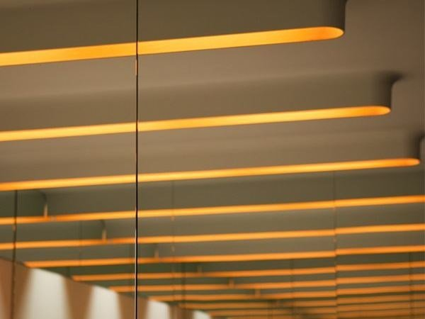 Ceiling mounted Linear lighting profile KAPPROFILE by FLOS