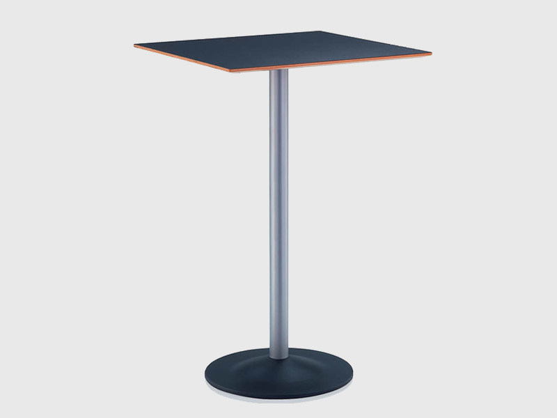 Square HPL table CROSS | Square table by Brunner