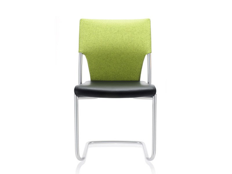 Cantilever visitor's chair DRIVE | Cantilever chair by Brunner