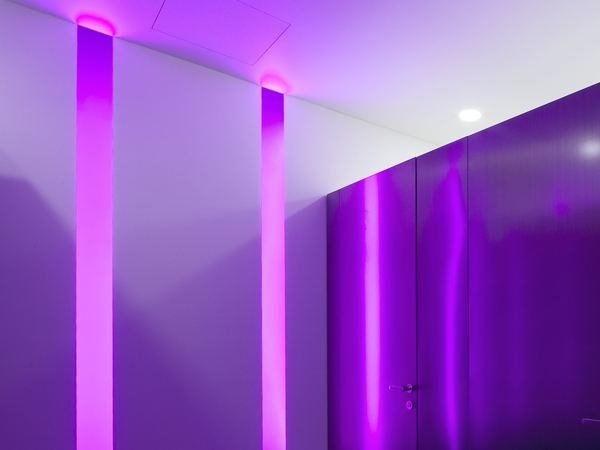 Linear lighting profile for LED modules SOFTPROFILE SMOOTH | Wall-mounted Linear lighting profile by FLOS