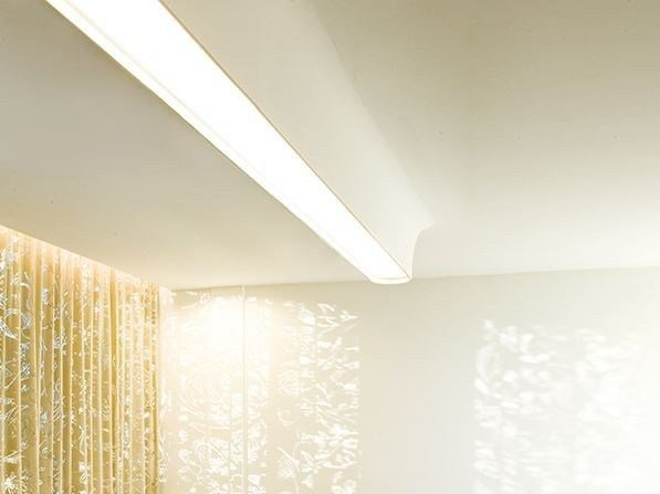 Ceiling mounted Linear lighting profile USP 06 16 31 by FLOS