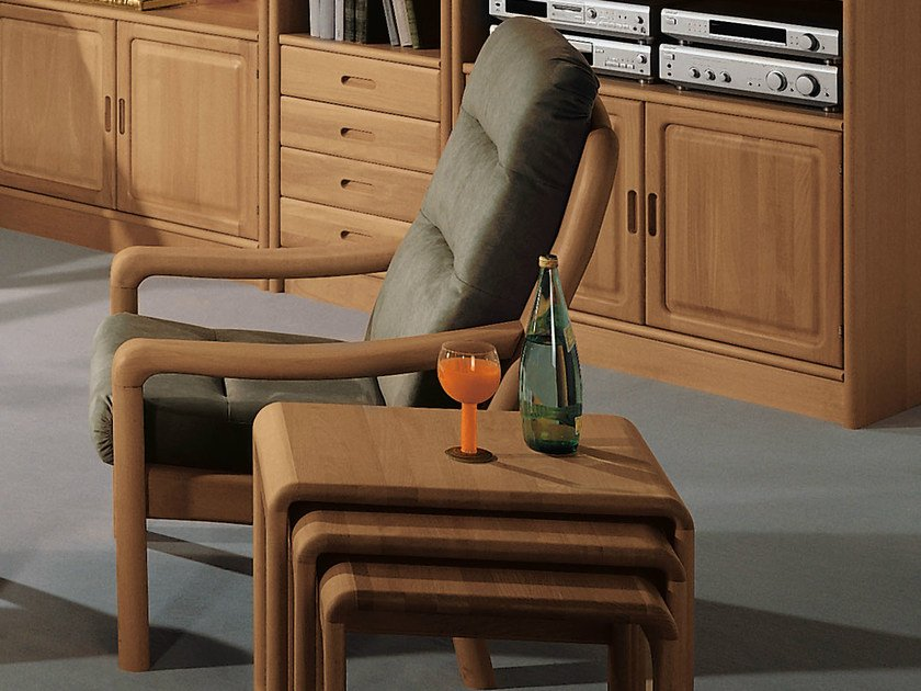 Armchair with armrests 1230H   Armchair by Dyrlund