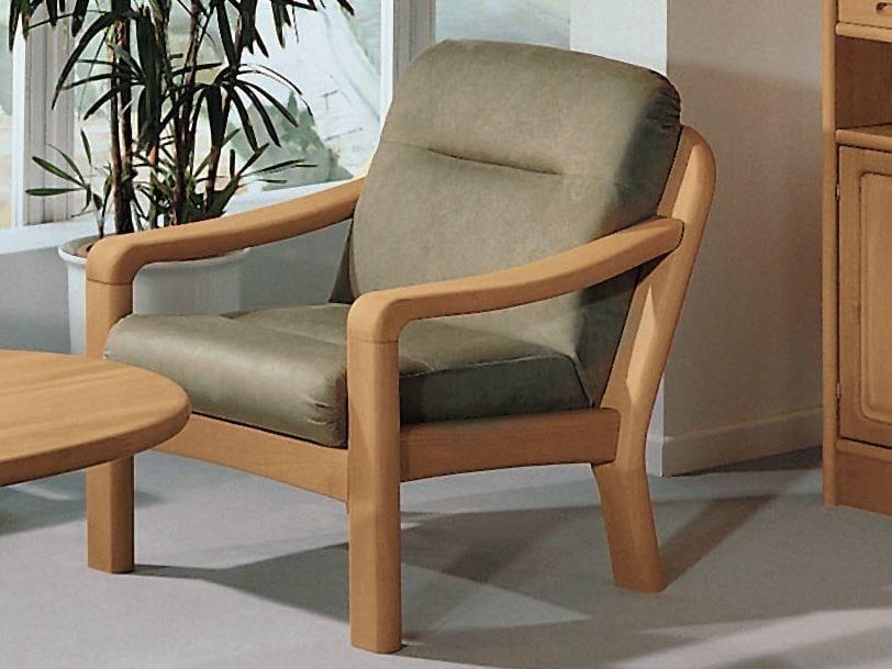 Armchair with armrests 1230   Armchair by Dyrlund