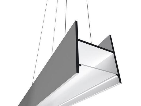 Fluorescent pendant lamp USP 09 16 25 by FLOS
