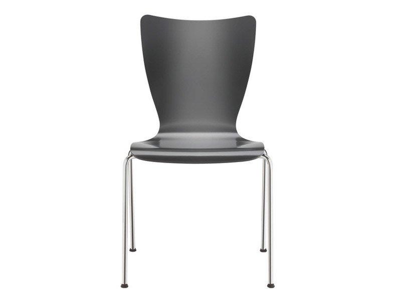 Stackable plastic chair FOX   Plastic chair by Brunner