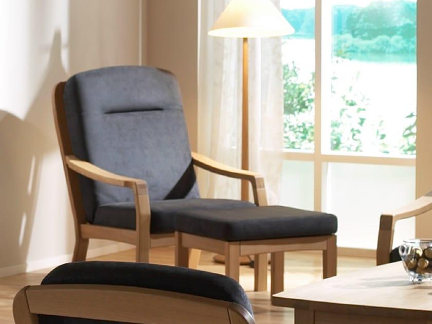 Armchair with armrests 1260HK | Armchair by Dyrlund