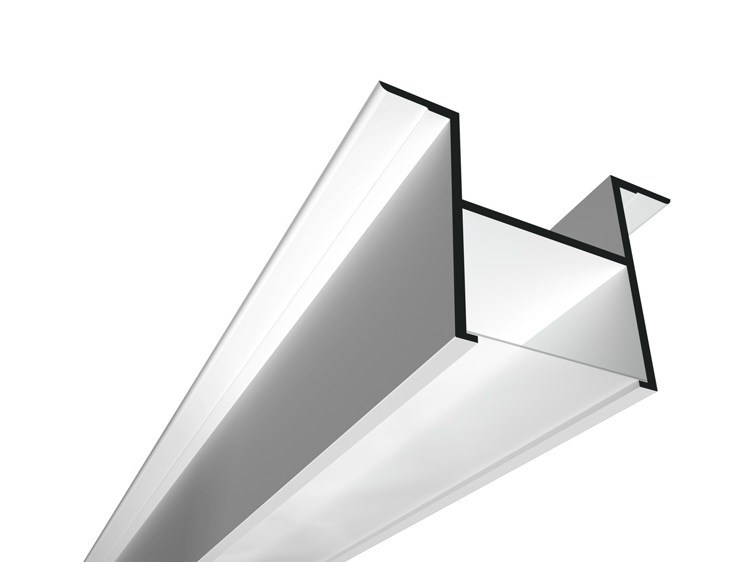 Linear lighting profile for fluorescent lamps USP 11 16 12 by FLOS