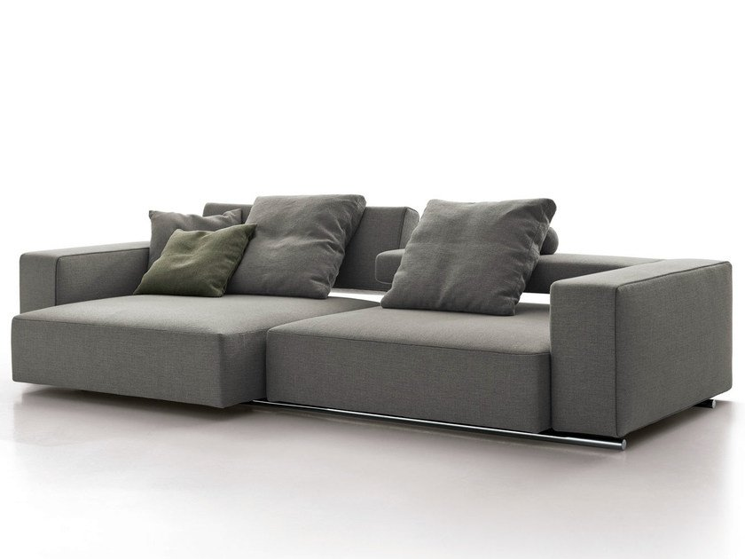 Recliner fabric sofa ANDY '13 | Sofa by B&B Italia