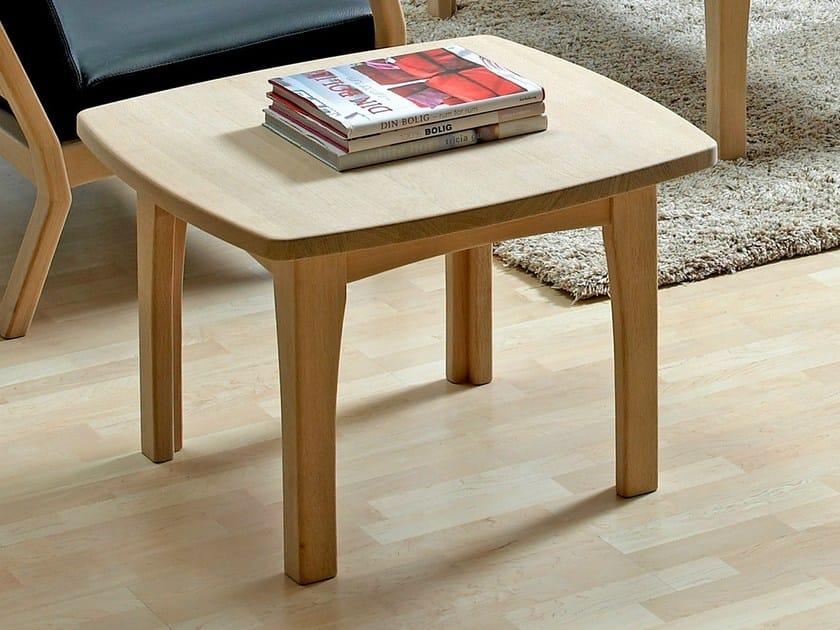 Rectangular wooden coffee table 9258EK | Coffee table by Dyrlund