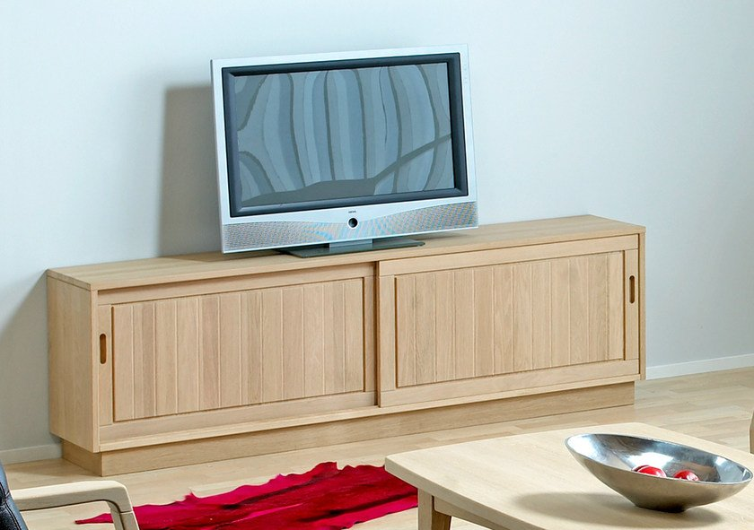 Wooden TV cabinet / sideboard 0179-3 | TV cabinet by Dyrlund
