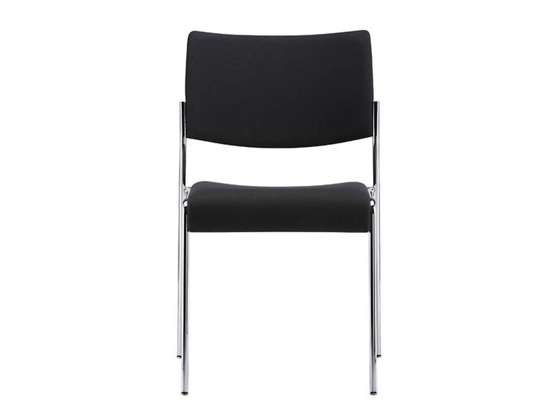 Stackable fabric chair LINOS | Chair by Brunner
