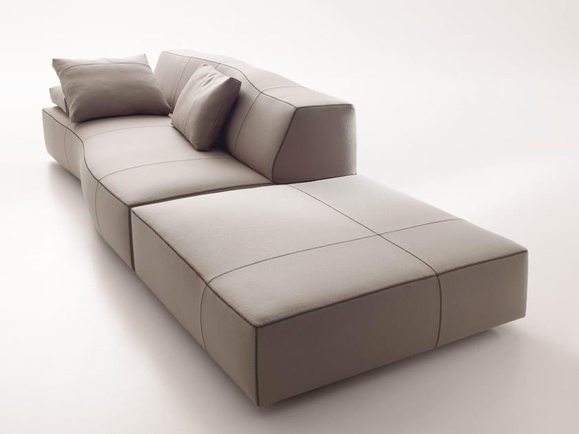 Modular fabric sofa BEND   Modular sofa by B&B Italia