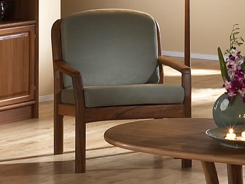 Armchair with armrests 1613   Armchair by Dyrlund