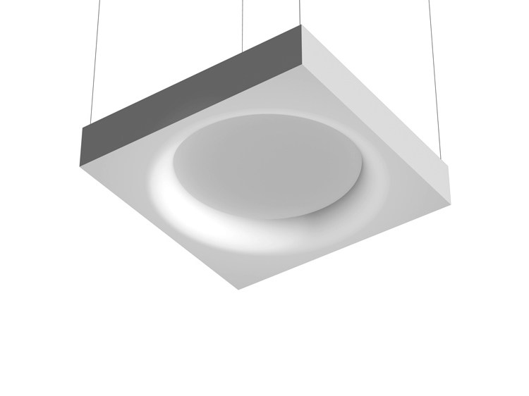 Fluorescent pendant lamp USL 1400 by FLOS