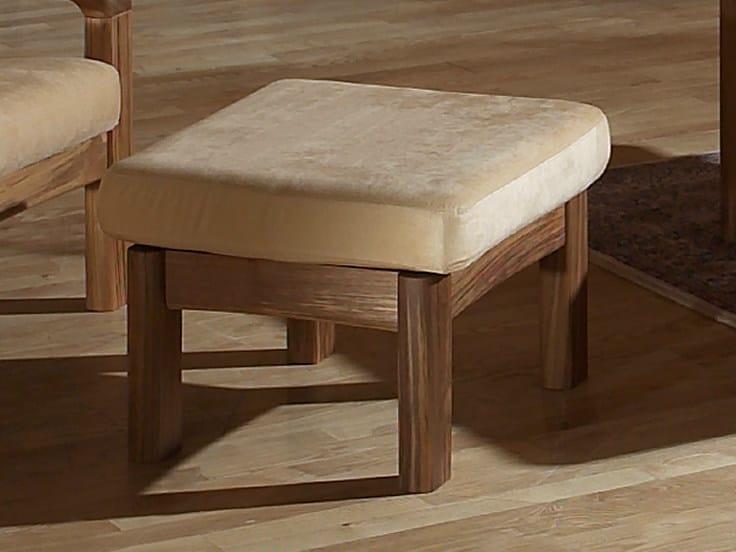 Wooden footstool 1240FS | Footstool by Dyrlund