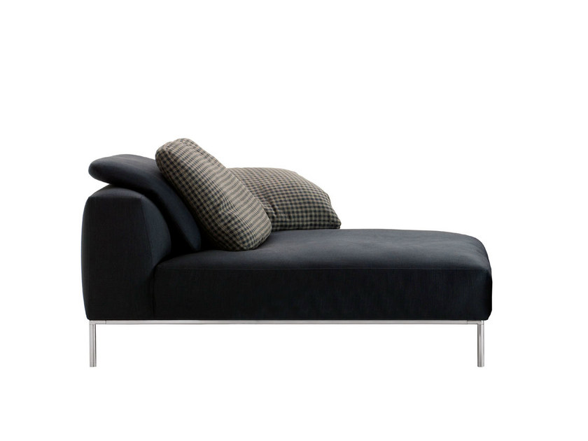 Upholstered fabric day bed FRANK   Day bed by B&B Italia
