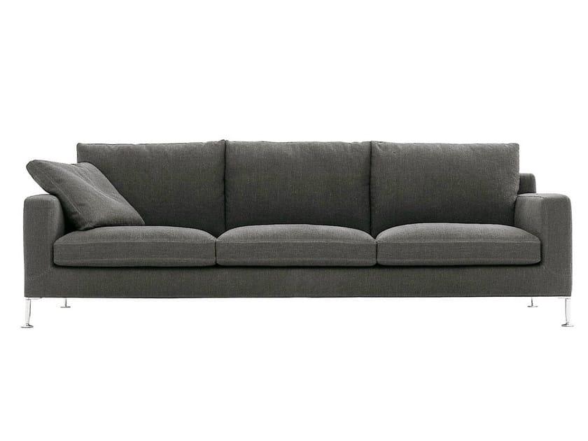 3 seater fabric sofa HARRY | Upholstered sofa by B&B Italia