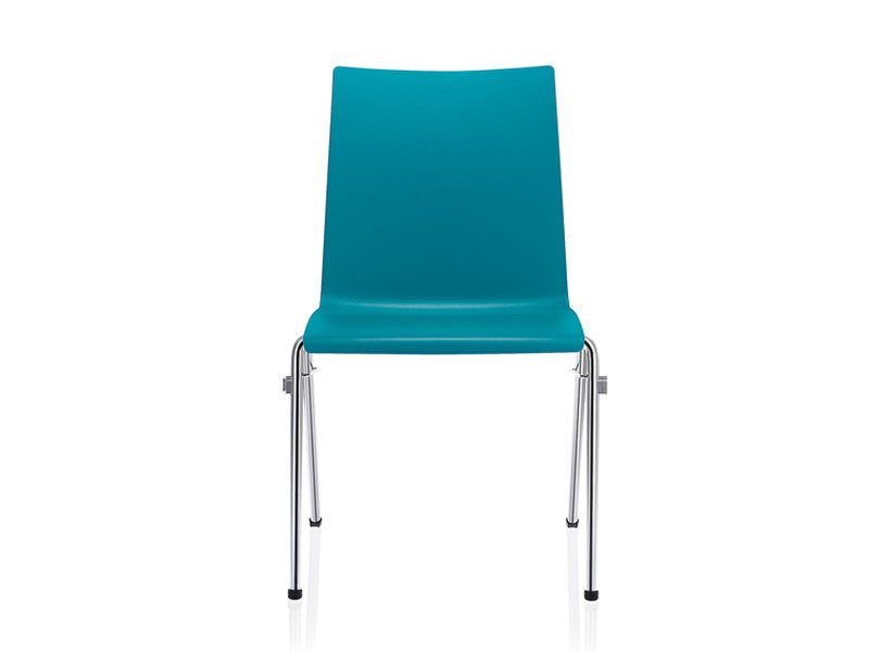 Stackable Auditorium plastic waiting room chair TOOL 2 | Waiting room chair by Brunner
