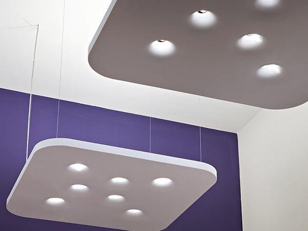 Direct-indirect light pendant lamp BENGUERRA by FLOS