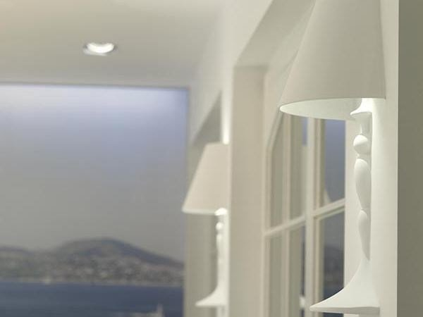 Direct light recessed wall lamp ABAJOURD'HUI SMALL by FLOS